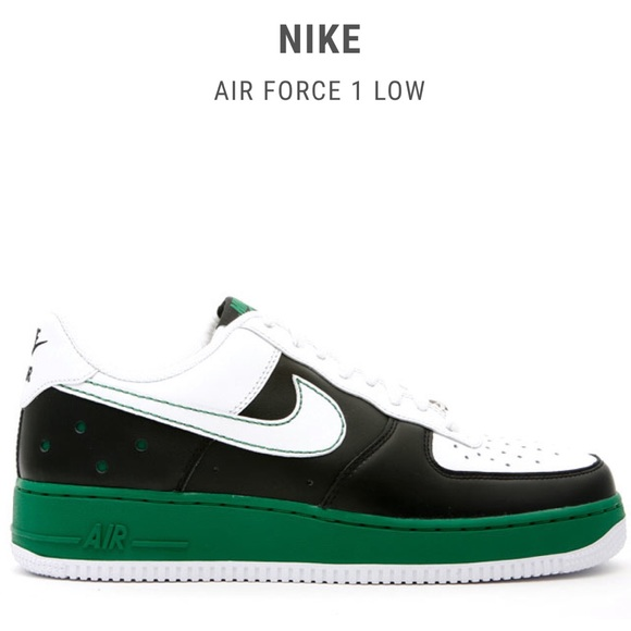 nike air force low green